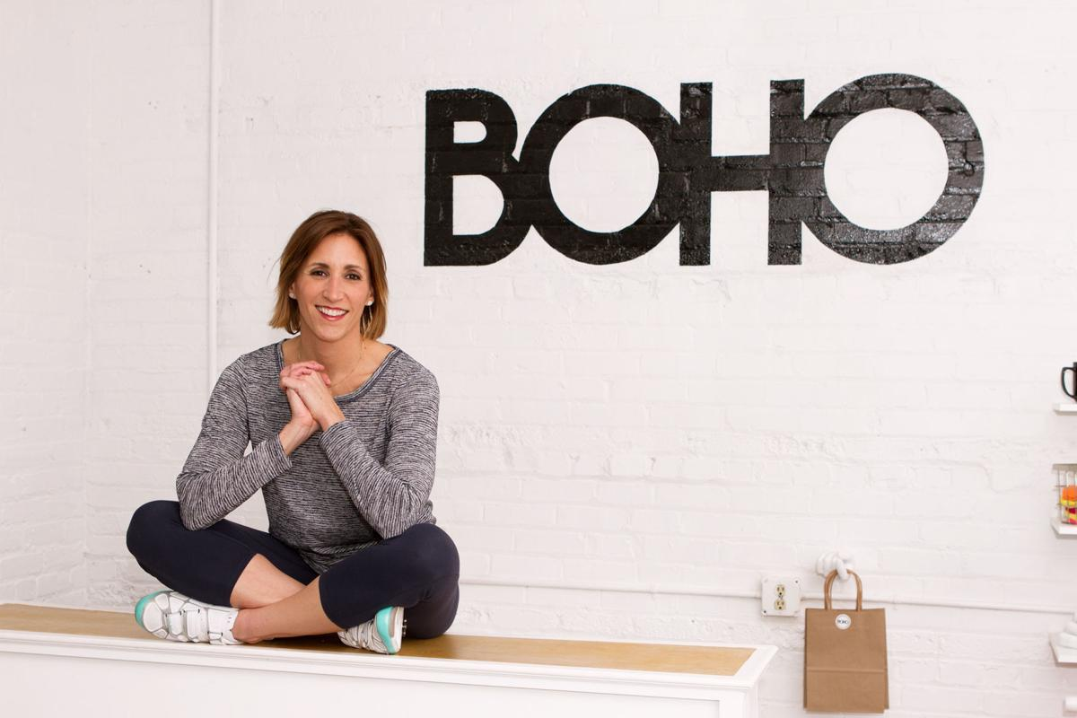 Boho Cycle Studio owner AnnMarie Grohs