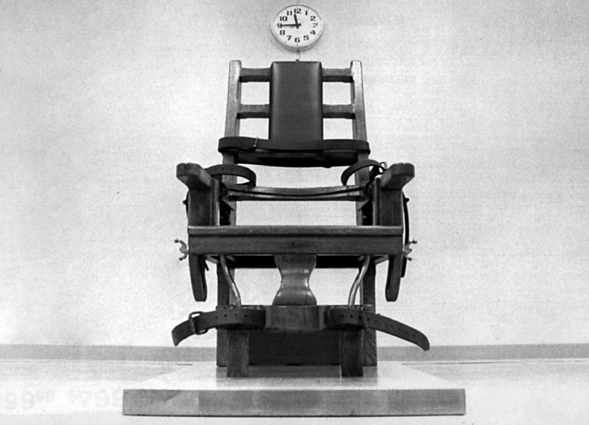 Real electric chair execution photos - Electric Chair