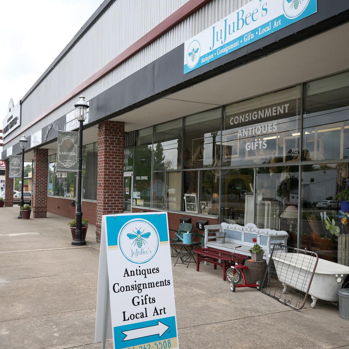 On a 1-mile stretch of Lakeside, 5 uncommon home décor shops dot the