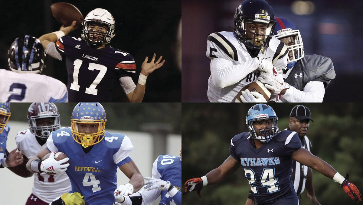 The high school football all-decade team