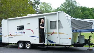Powhatan nurse using RV donated for duration of pandemic