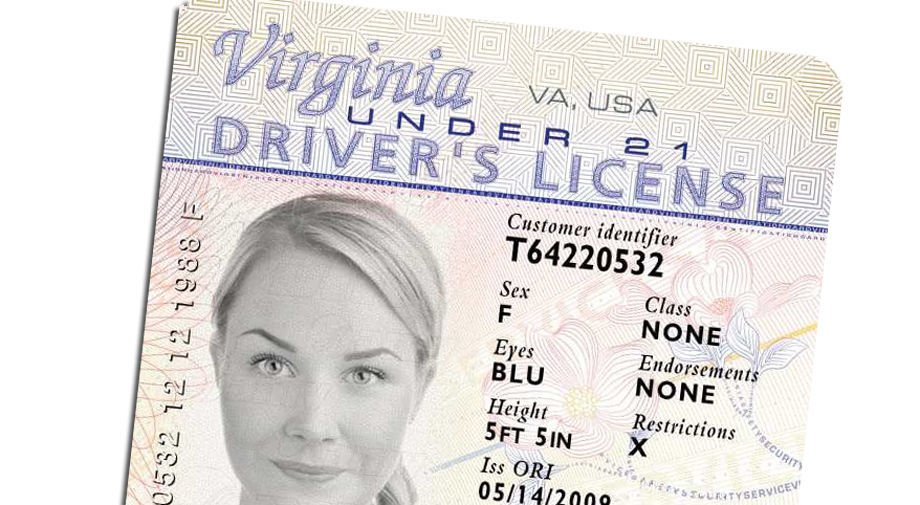 copy of drivers license for tax return
