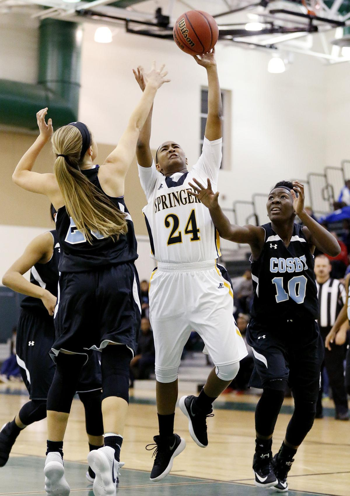 TDIT girls semifinal games: Highland Springs vs. Cosby