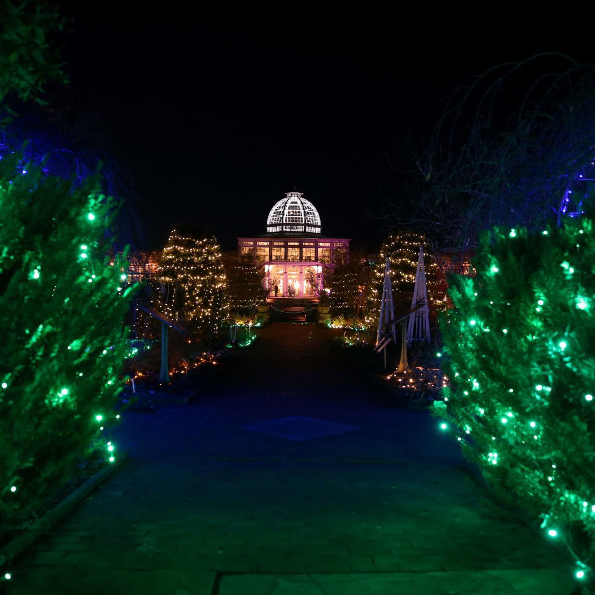Dominion Energy Gardenfest Of Lights Bringing Art To Light