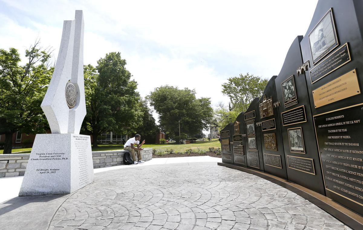 VUU 150TH ANNIVERSARY MONUMENT virginia union university icon