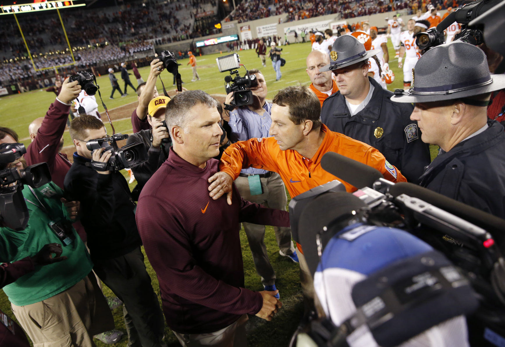 Positional report card from Virginia Tech win
