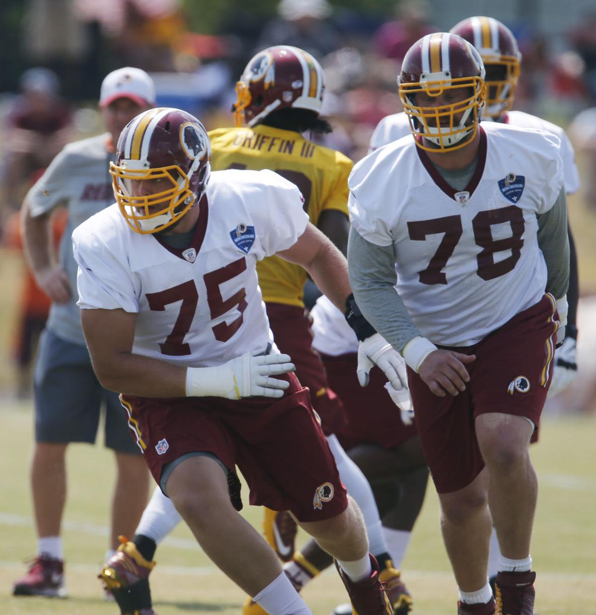 Two minute drill Get to know Redskins rookie Brandon Scherff