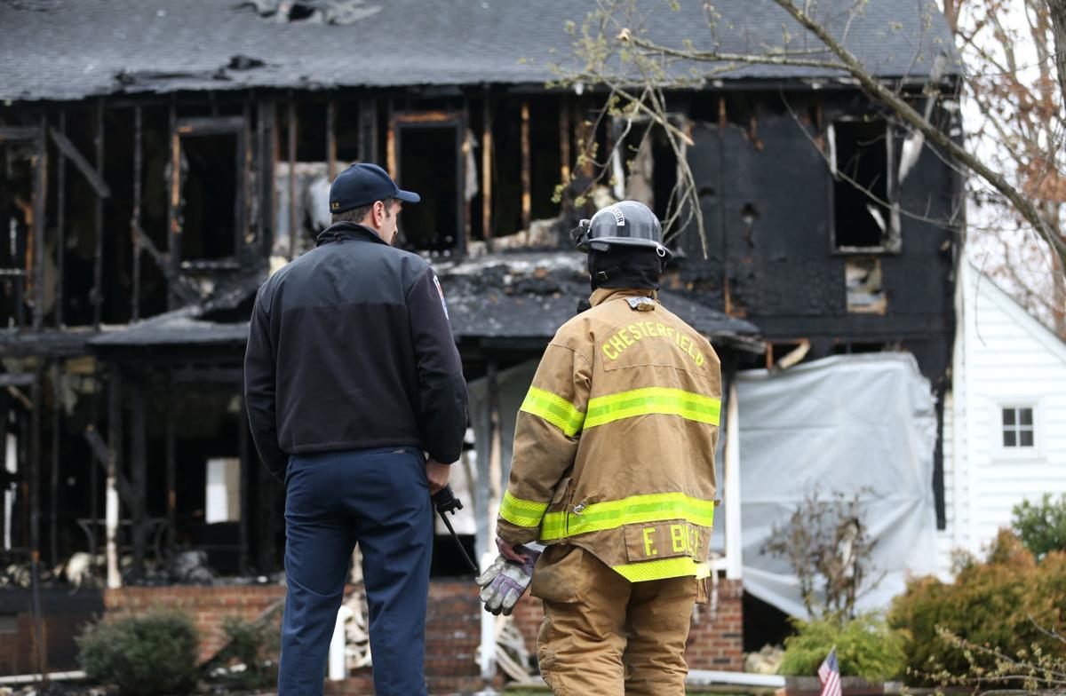 UPDATE: One dead after Midlothian house fire | Chesterfield County ...