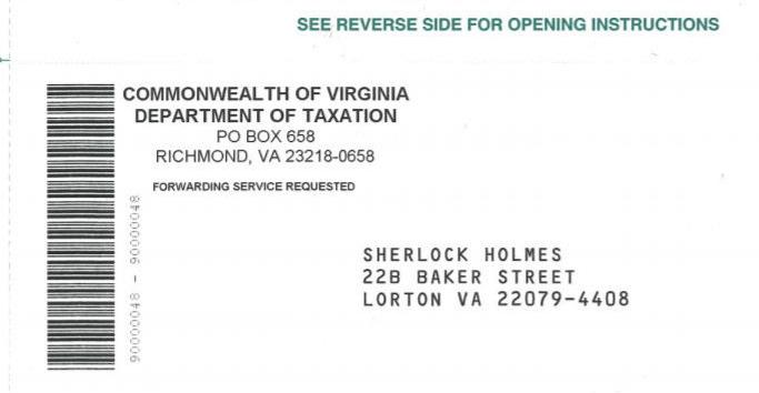 Virginia Tax Refund Checks Are In The Mail. Don't Toss Out