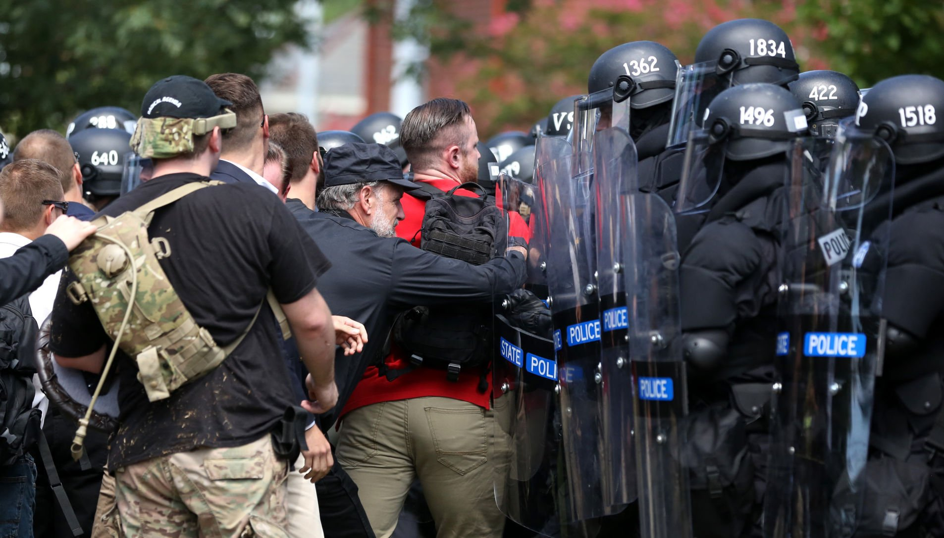 Charlottesville white nationalist who cried on camera is about to get arrested