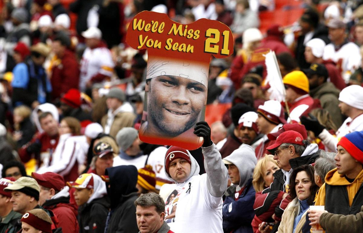 promo code 3ccf7 7374c A decade after his death, Redskins players still remember ...