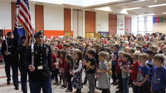 Powhatan groups honor Veterans Day
