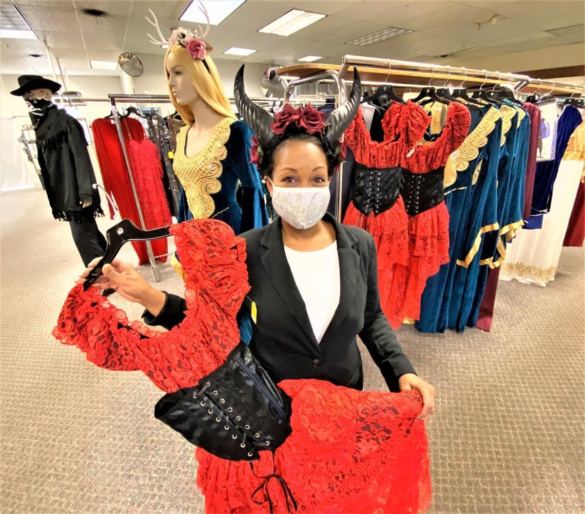 Chelee Lattimore owns Premier Costumes