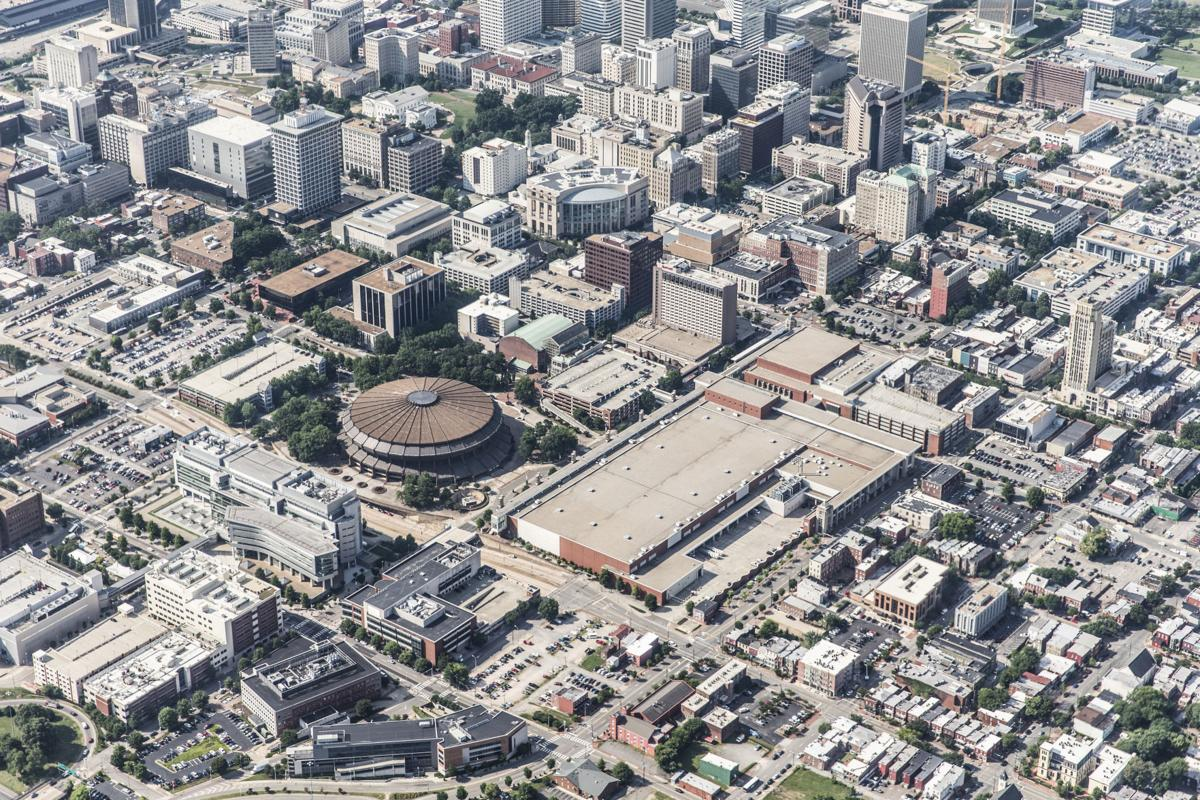 Aerial photos Richmond area