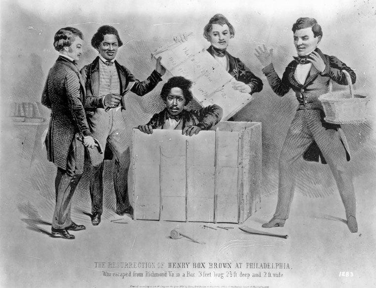 Henry Box Brown Black History Month Richmond Com