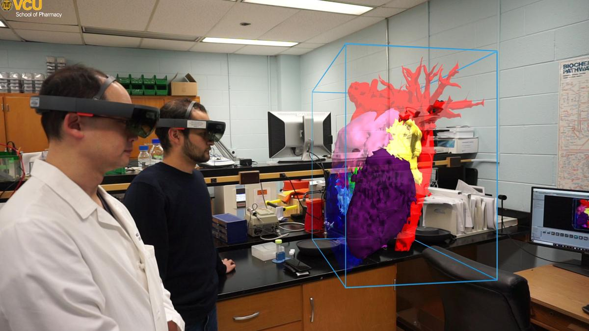 How augmented reality helped VCU Health surgeons save a college student's life
