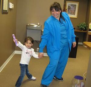578704-01 Powhatan Gentle Dentistry Photo Staff & Patient.jpg