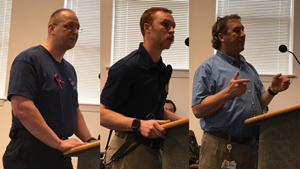 Powhatan volunteer firefighters and EMTs raise issues with morale, communication