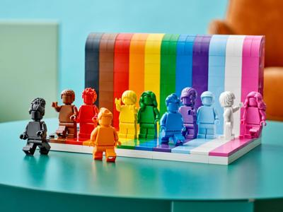 Lego unveils first LGBTQ set ahead of Pride Month