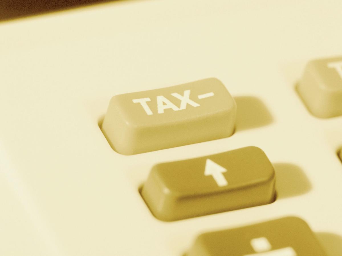 tax key on calculator