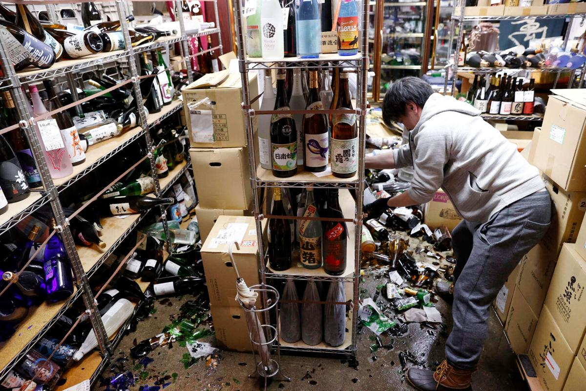 Japan rocked by 'aftershock' from devastating 9.0-magnitude quake that hit in 2011