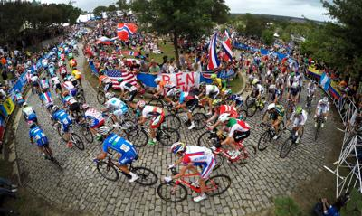 UCI Men's Elite Road Race turns up Libby Hill