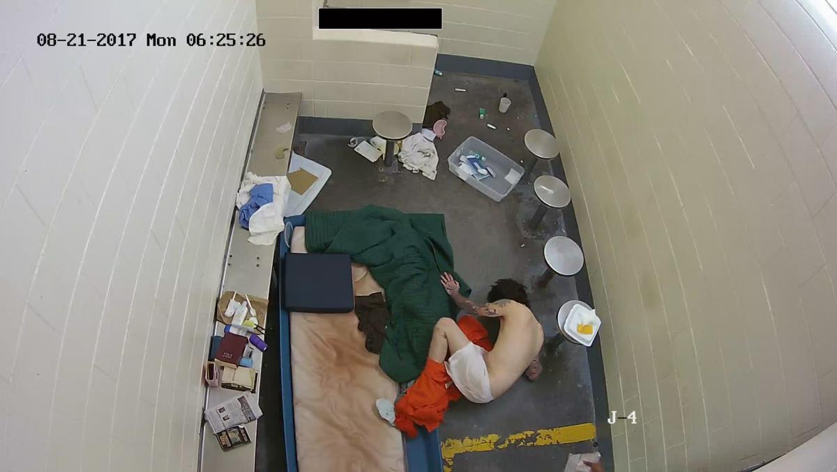 Photo of Jason Sisson in his cell