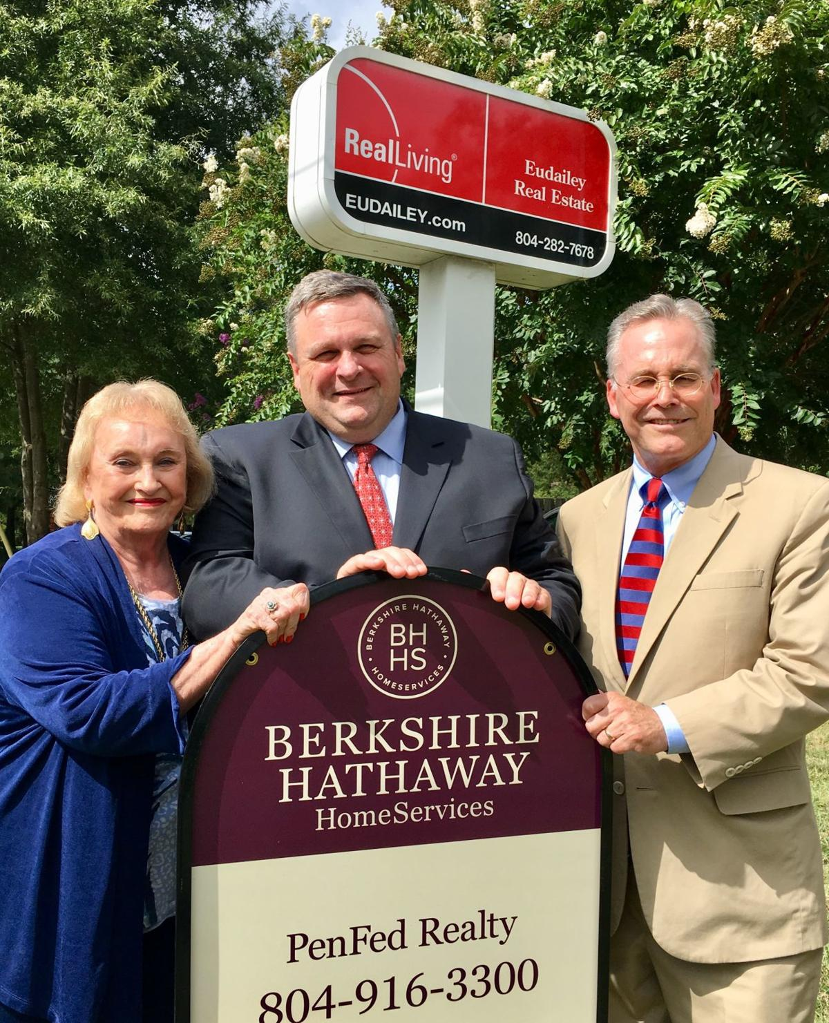 Eudailey Real Estate business sells to Berkshire Hathaway HomeServices PenFed Realty