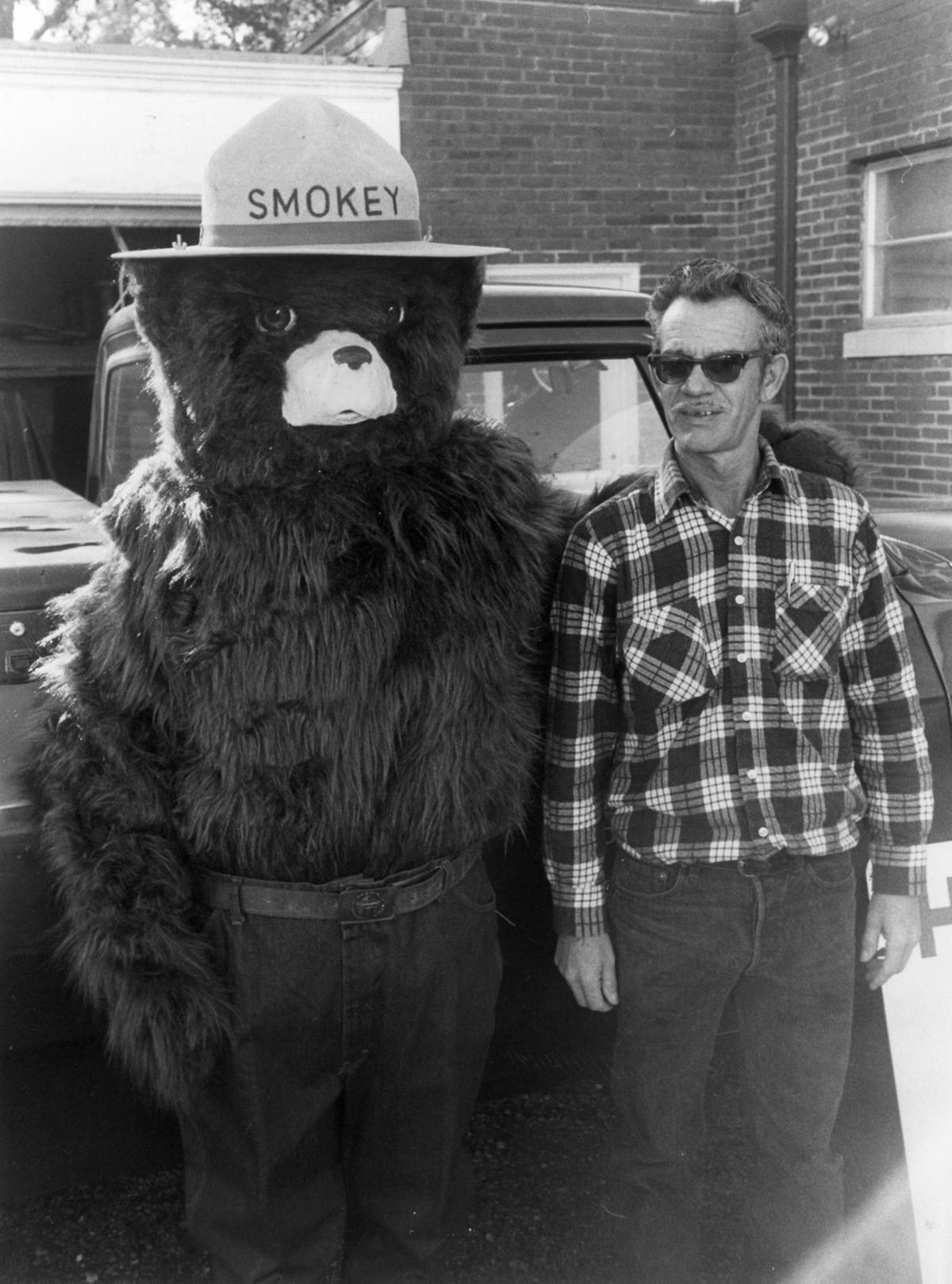From The Archives Smokey The Bear In Virginia From The