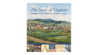 """""""The Story of Virginia"""" coffee table book"""