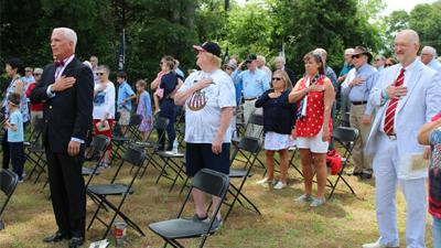 Huguenot Springs honors the fallen on Memorial Day