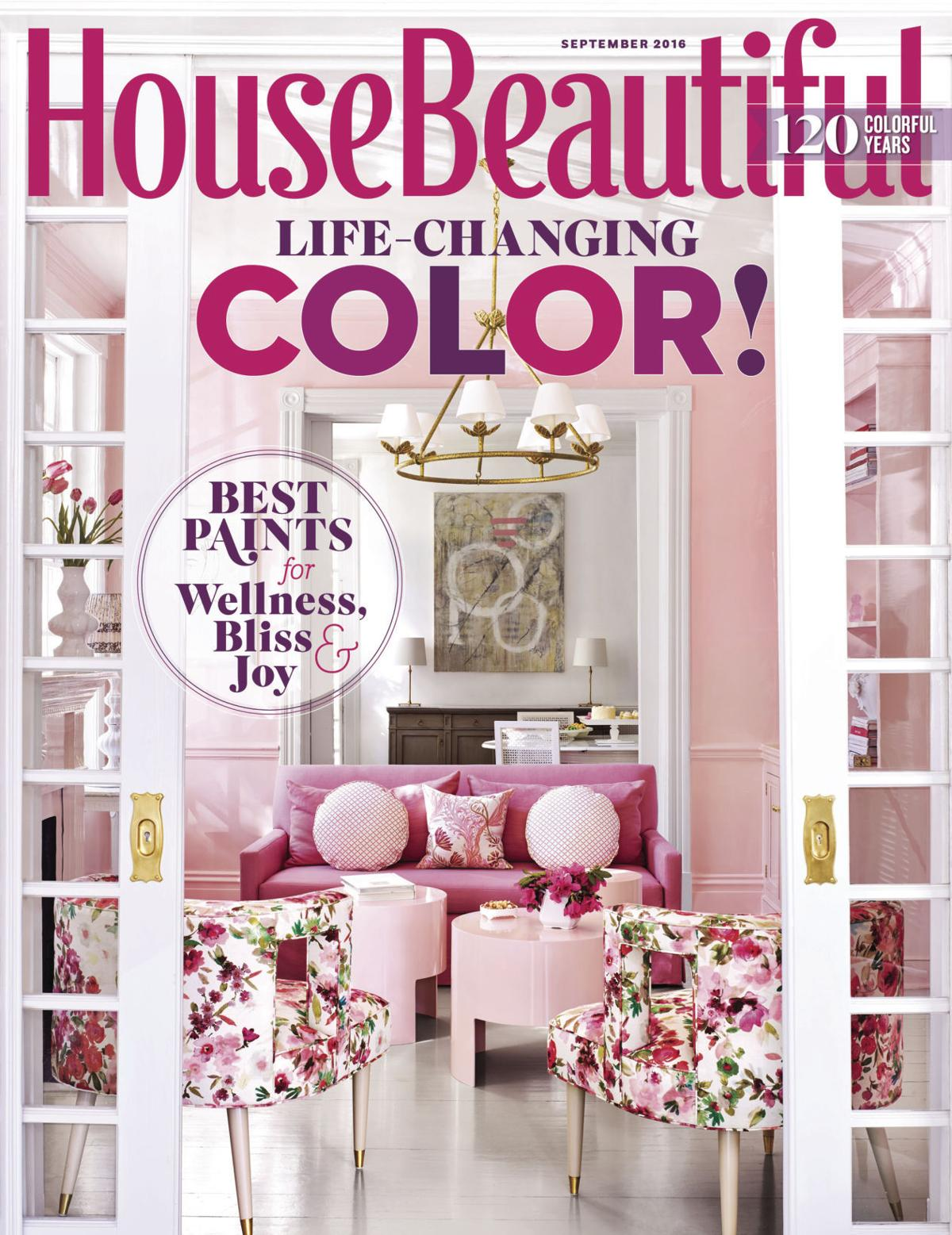 House Beautiful Magazine Ukrop Home Featured In 'house Beautiful'  Home And Gardens