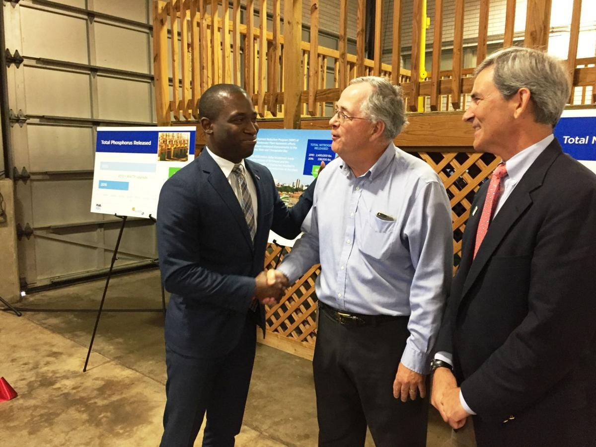 City celebrates $120 million in wastewater plant upgrades