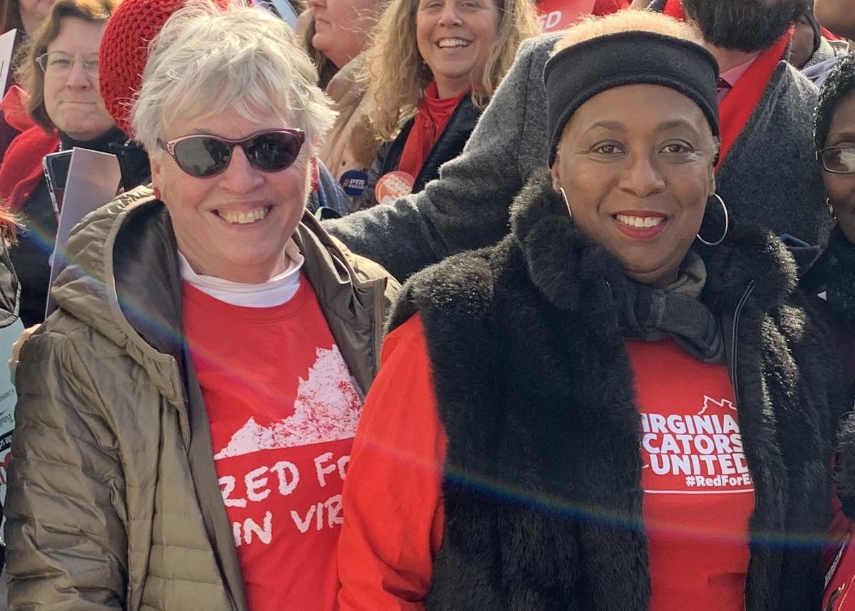 Linda Owen and Cheryl Burke