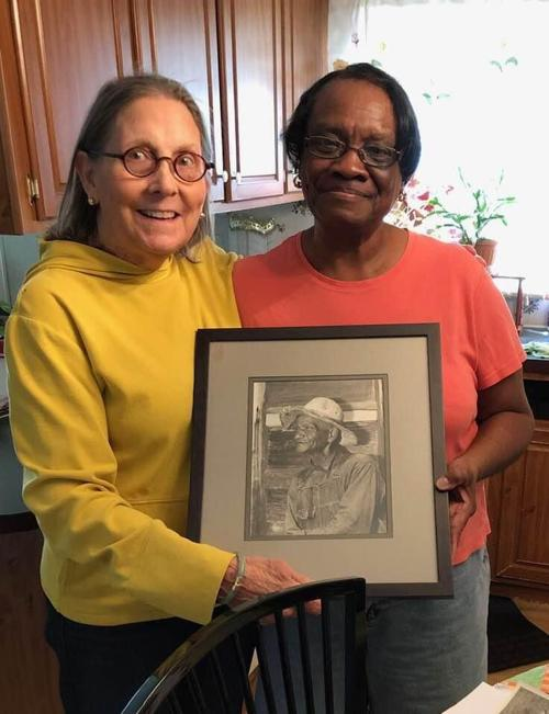 Christie Knox and Rosa Oliver Bland