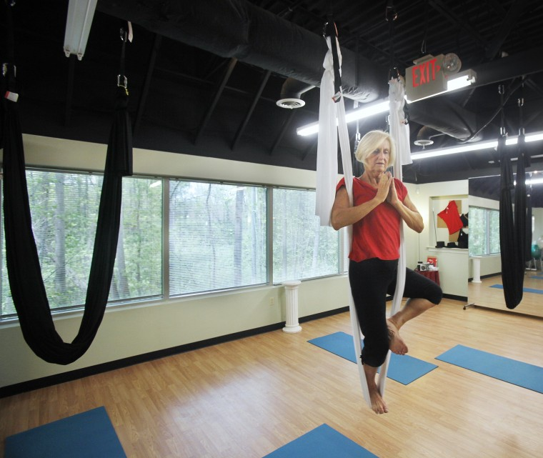 Aerial hammock class may have you hooked | Entertainment | richmond com