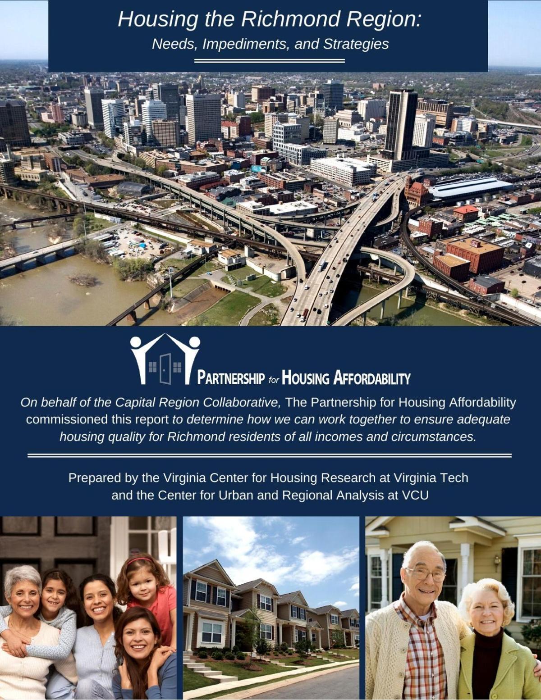 Housing the Richmond Region: Needs Impediment and Strategies