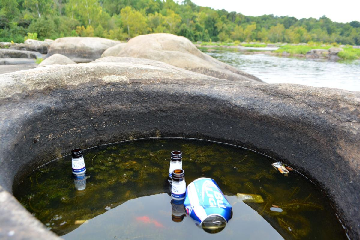 why richmond why littering at the james river is hard