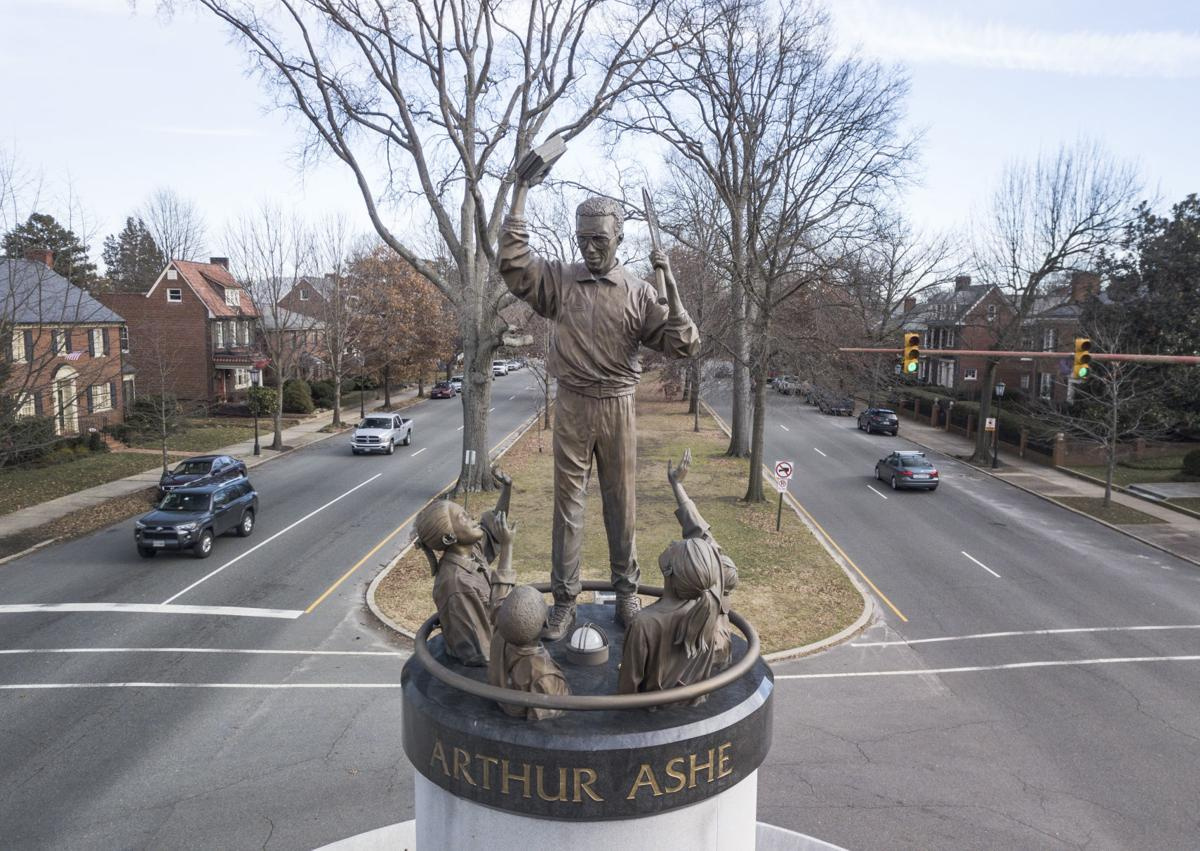 Statue of Arthur Ashe