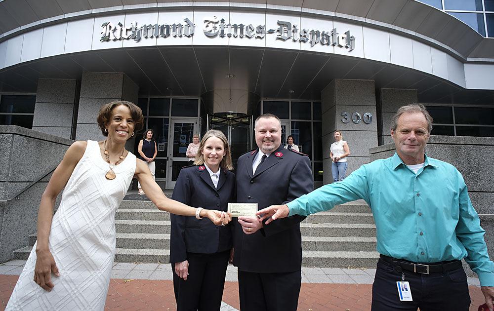 RCMF Salvation Army 2021 Mid-Year Donation