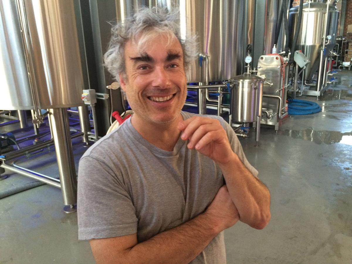 Dave McCormack In Trapezium Brewery
