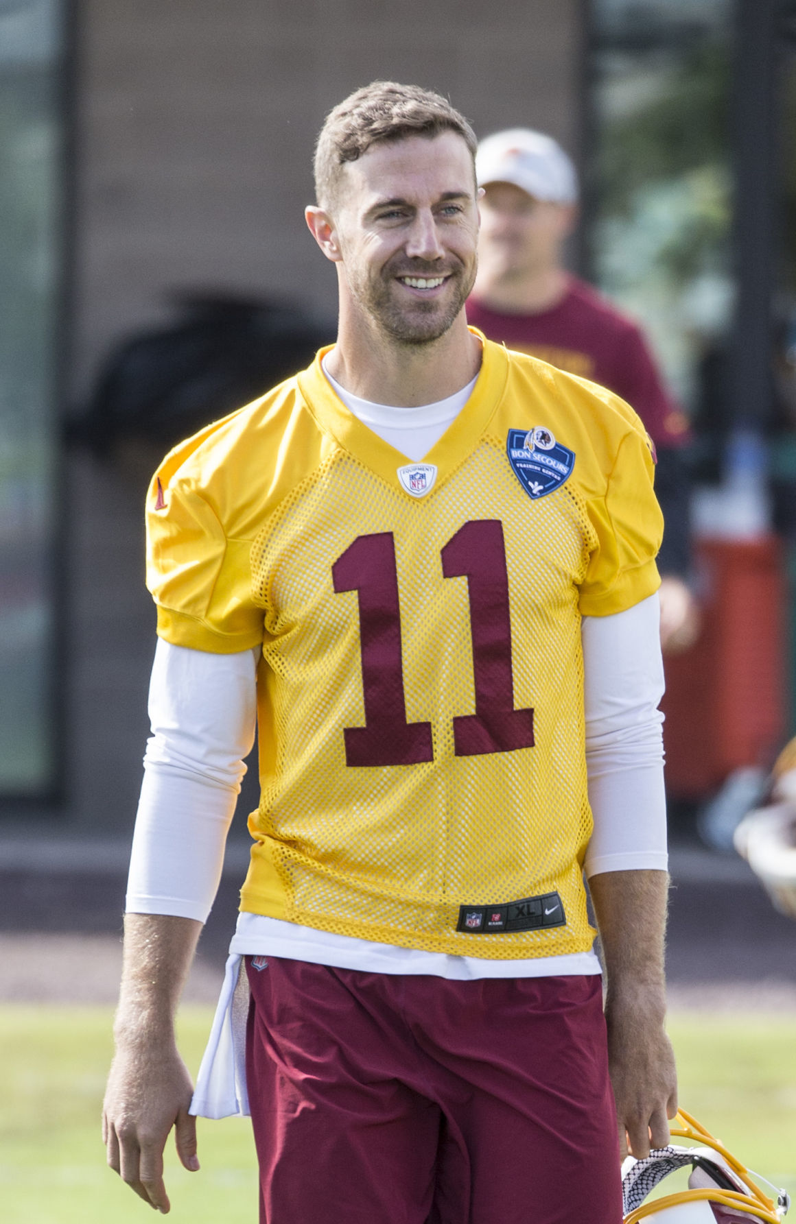 First day of Redskins training camp