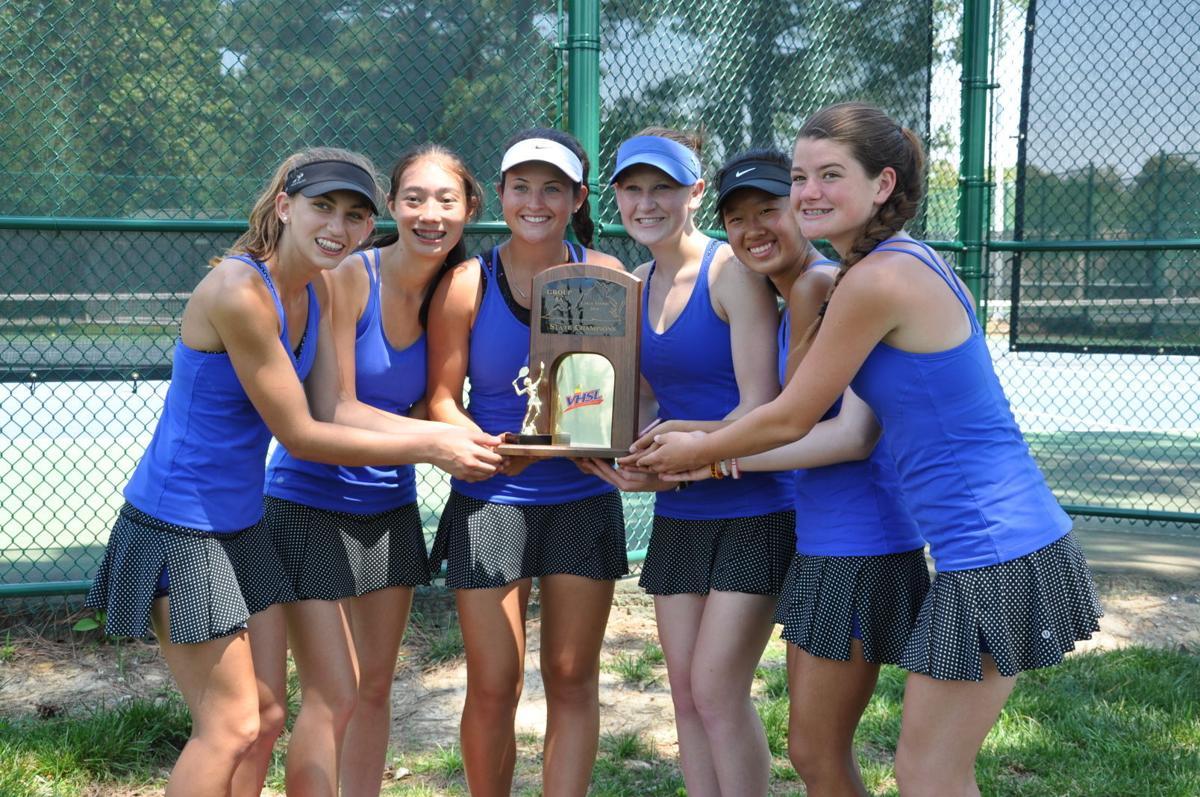 Deep Run girls tennis state champs