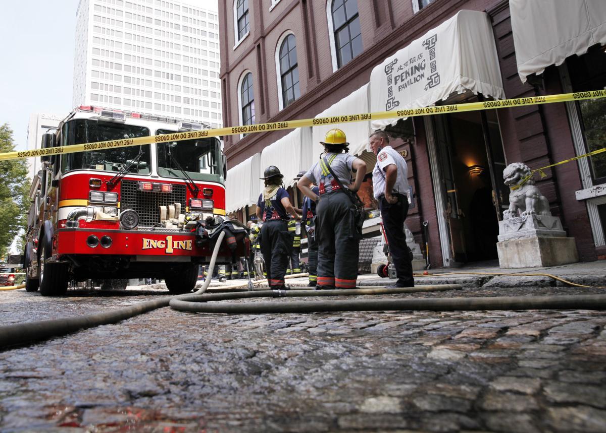 Richmond Firefighters Respond To Peking Restaurant In Shockoe Slip