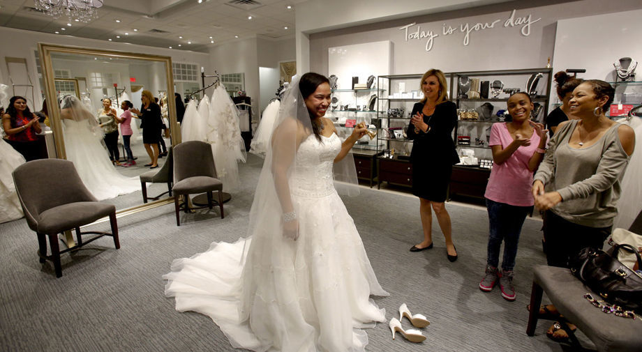 Davids Wedding Dress