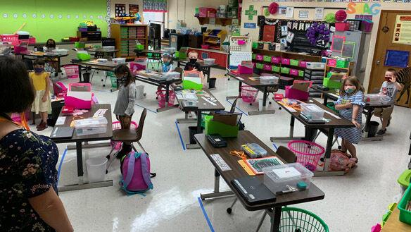 Powhatan schools return for busy first week of school