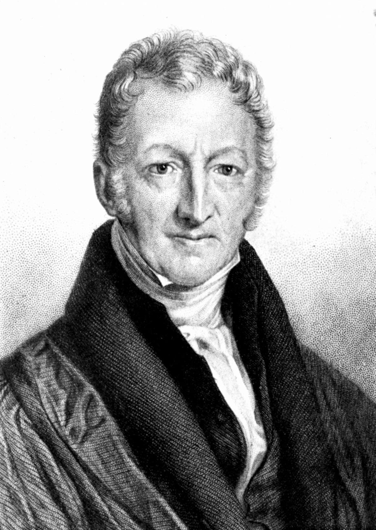 Portrait of Thomas Robert Malthus