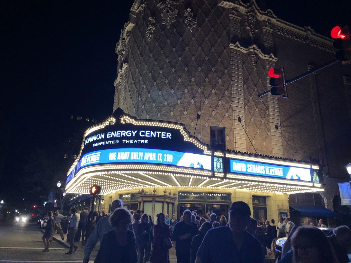 David Sedaris at the Carpenter Theatre