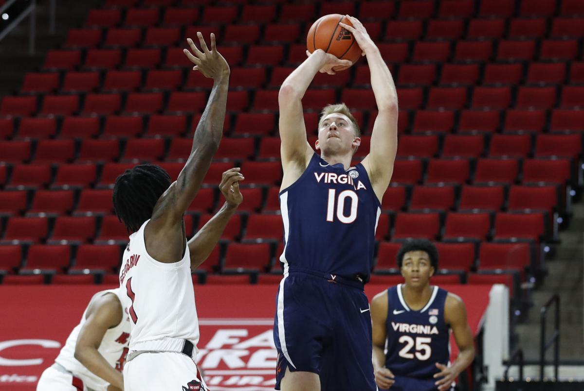 Virginia NC State Basketball