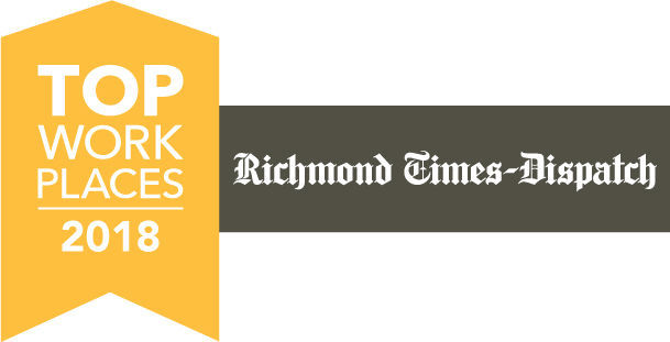 2018 Top Workplaces logo